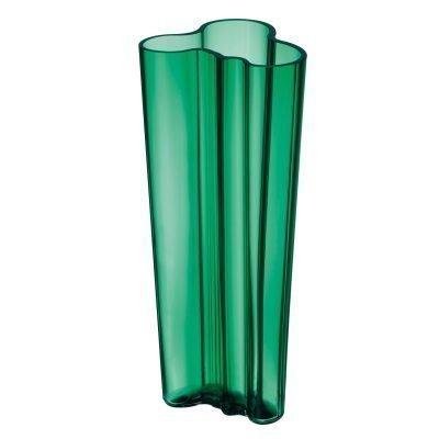 Aalto vaasi 255 mm smaragdi vihreä