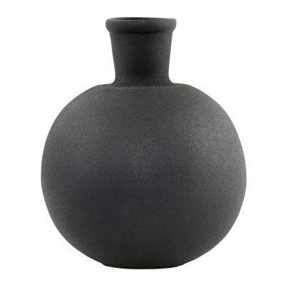 Ball maljakko musta