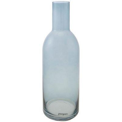 Bottle maljakko/kynttilänjalka L sininen