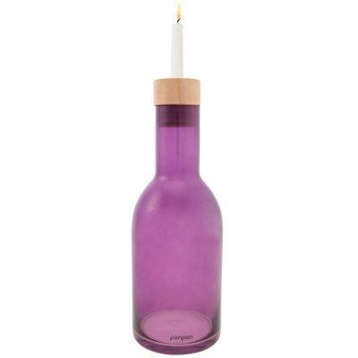 Bottle maljakko/kynttilänjalka M liila