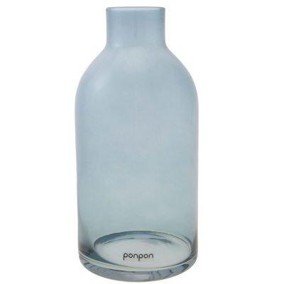 Bottle maljakko/kynttilänjalka S sininen