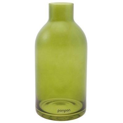 Bottle maljakko/kynttilänjalka S vihreä