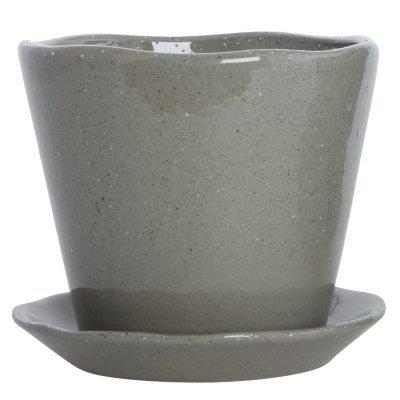 Clay ruukku S harmaa