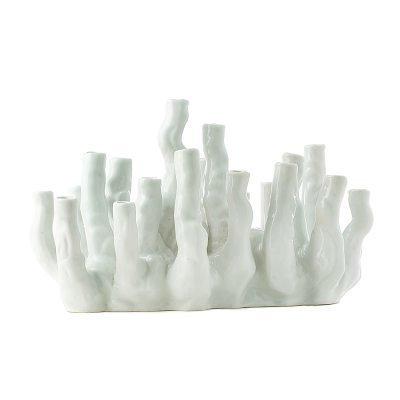 Coralreef maljakko valkoinen