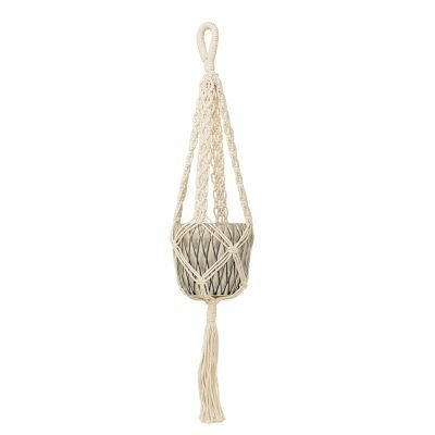 Hanging kukkaruukku S norsunluu