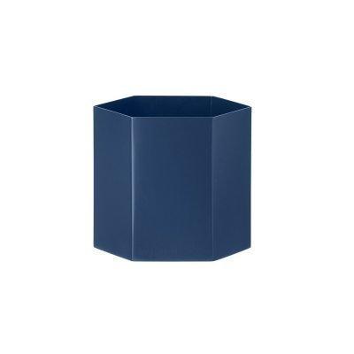Hexagon ruukku L sininen