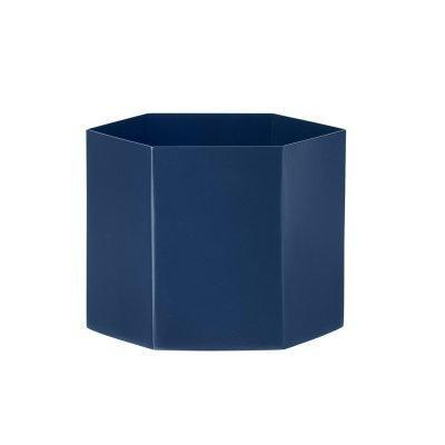 Hexagon ruukku XL sininen