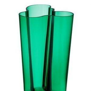Iittala Aalto maljakko 251mm smaragdi