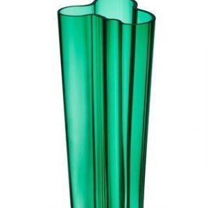 Iittala Aalto maljakko 255mm smaragdi