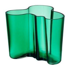 Iittala Alvar Aalto maljakko 120 mm smaragdi