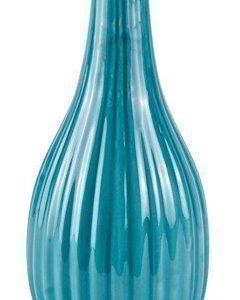 KJ Collection Maljakko Keramiikka Petrol 22 cm