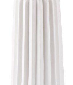 KJ Collection Maljakko Keramiikka Valkoinen 14x28 cm