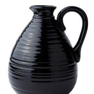KJ Collection Maljakko Musta 18 cm