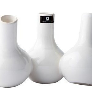 KJ Collection Maljakko Valkoinen 9