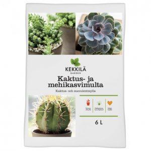 Kekkilä Kaktus- Ja Mehikasvimulta 6 L