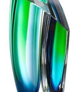 Kosta Boda Mirage Vihreä/Sininen Vaasi 21 cm