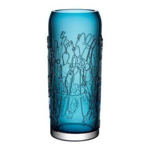 Kosta Boda Twine Sininen Vaasi 40 cm