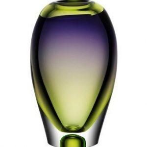 Kosta Boda Vision Purple/Green Vaasi 25
