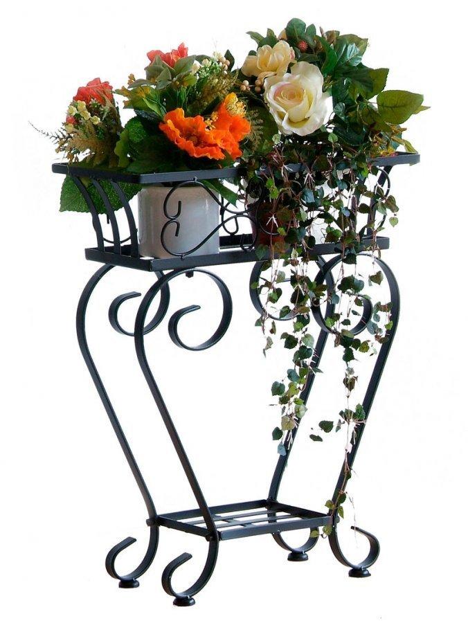 Kukkapöytä Musta