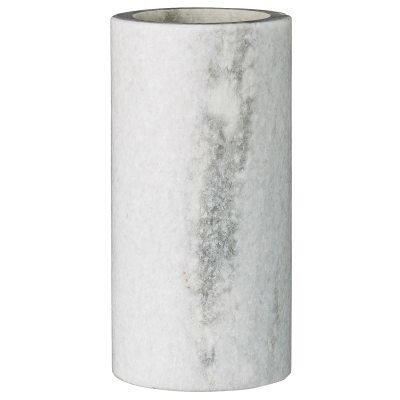 Marble vaasi M valkoinen marmori