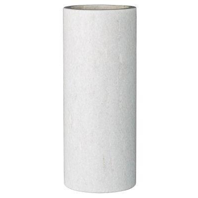 Marble vaasi S valkoinen marmori