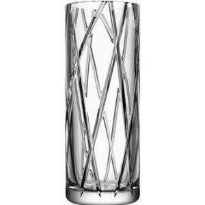 Orrefors Explicit Stripe Maljakko 30 cm