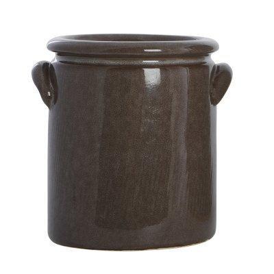 Pottery ruukku S ruskea
