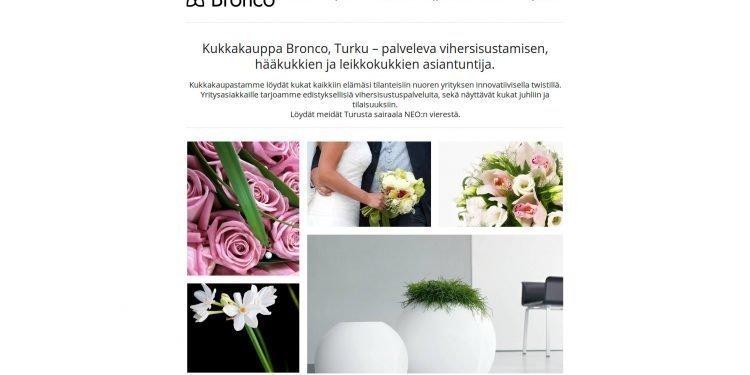 Kukkakauppa Bronco