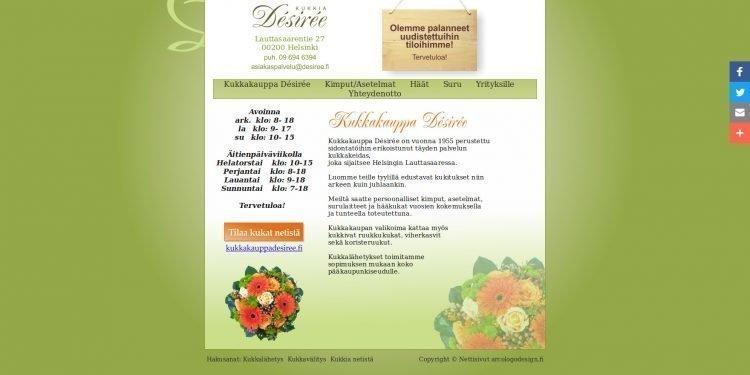 Kukkakauppa Désirée Oy