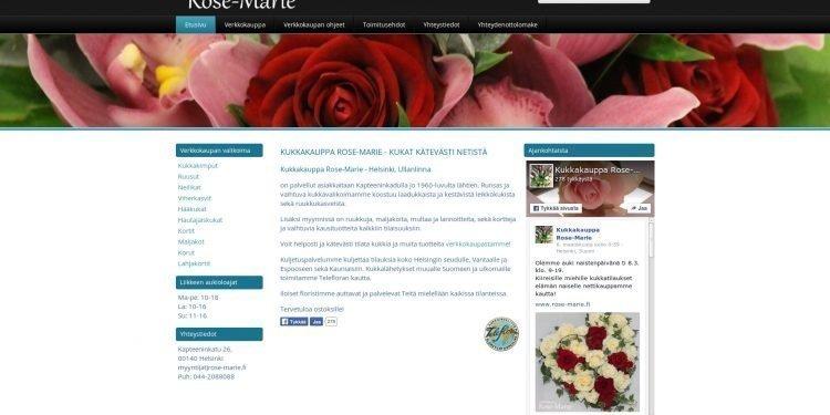 Kukkakauppa Rose-Marie